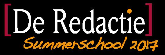 De Redactie Trainingen - Programmaoverzicht 2017_logo